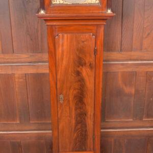 Georgian Mahogany Grandfather Clock SAI2423 Antique Clocks