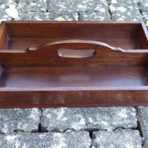 19th century mahogany cutlery tray cutlery tray Antique Trays
